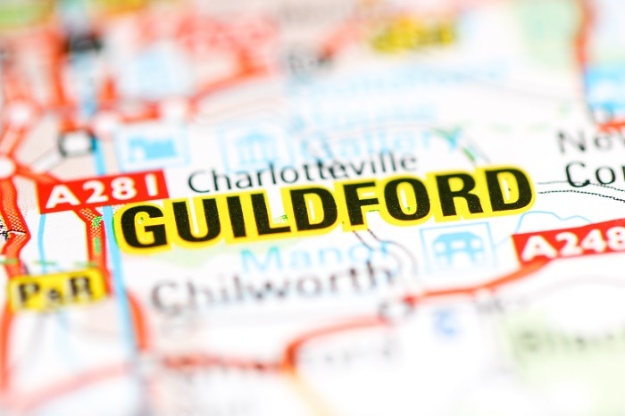 Guildford named best place to relocate to